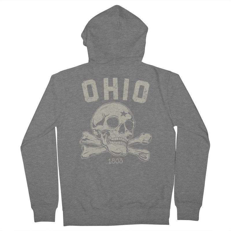 OHIO est.1803 Men's Zip-Up Hoody by EngineHouse13's Artist Shop