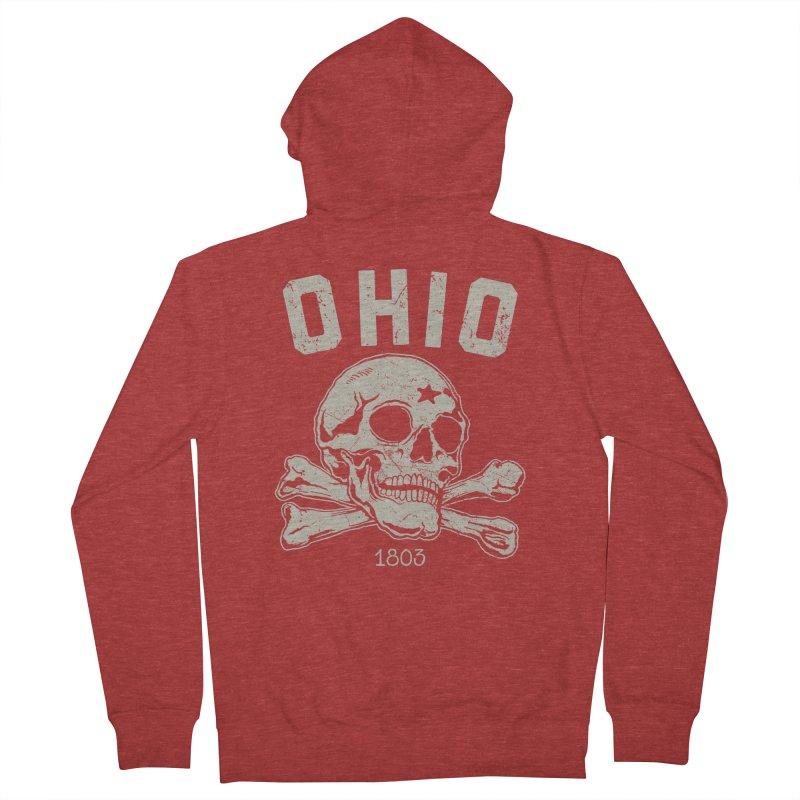 OHIO est.1803 Men's Zip-Up Hoody by EngineHouse13's Artist Shop