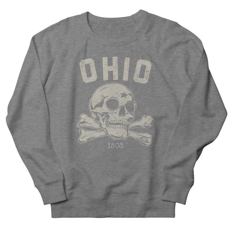 OHIO est.1803 Men's French Terry Sweatshirt by EngineHouse13's Artist Shop