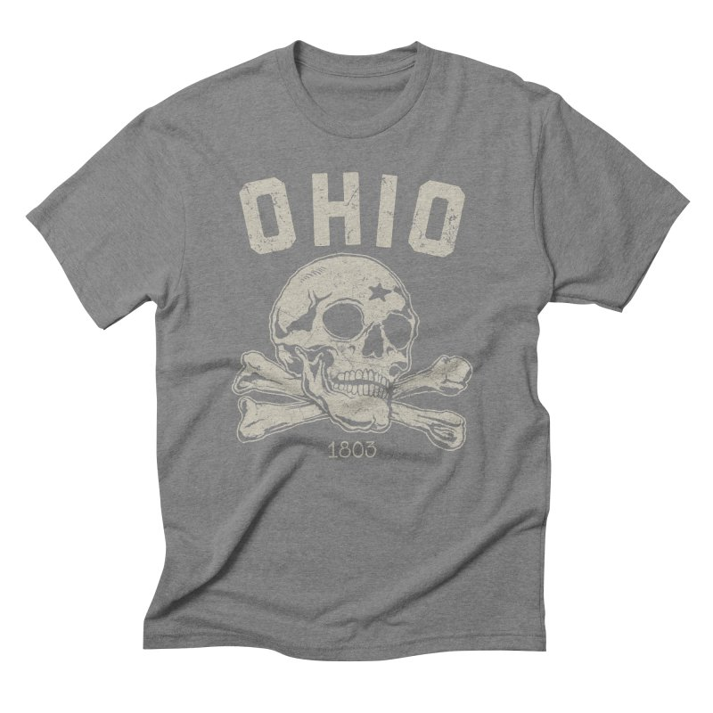 OHIO est.1803 Men's Triblend T-Shirt by EngineHouse13's Artist Shop