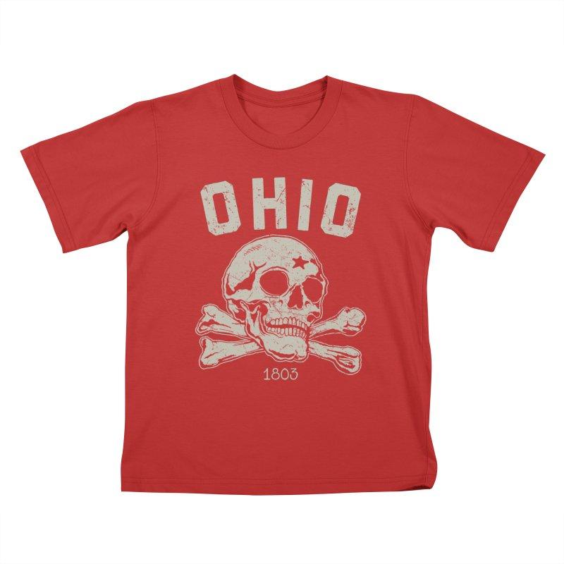 OHIO est.1803 Kids T-Shirt by EngineHouse13's Artist Shop