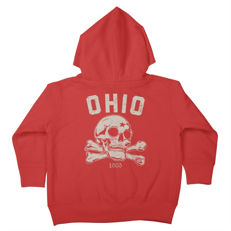 OHIO est.1803 Kids Toddler Zip-Up Hoody by EngineHouse13's Artist Shop