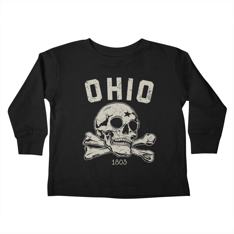 OHIO est.1803 Kids Toddler Longsleeve T-Shirt by EngineHouse13's Artist Shop