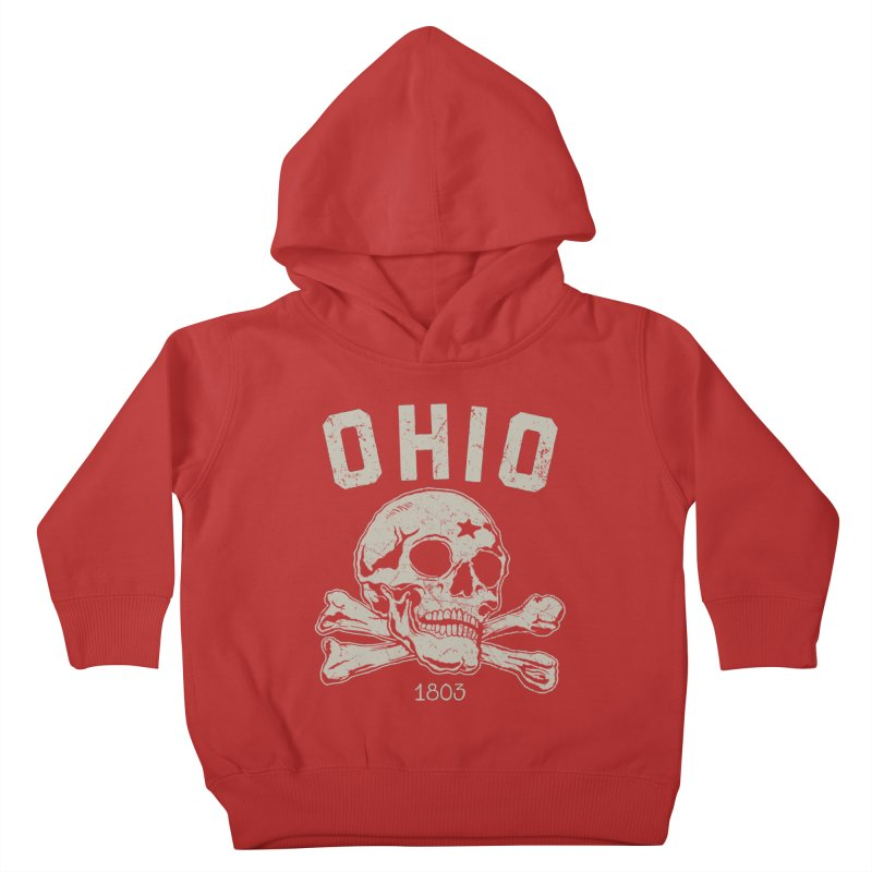 OHIO est.1803 Kids Toddler Pullover Hoody by EngineHouse13's Artist Shop