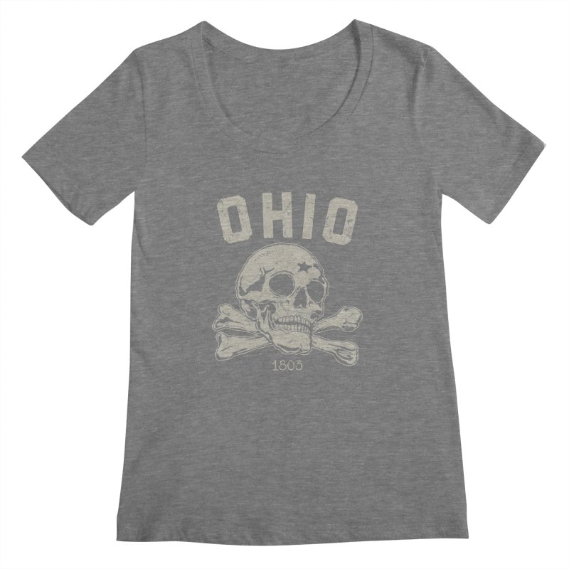 OHIO est.1803 Women's Scoopneck by EngineHouse13's Artist Shop