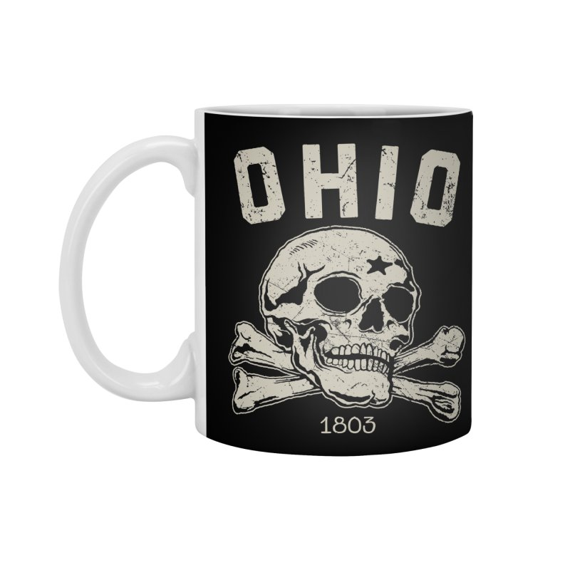OHIO est.1803 Accessories Mug by EngineHouse13's Artist Shop