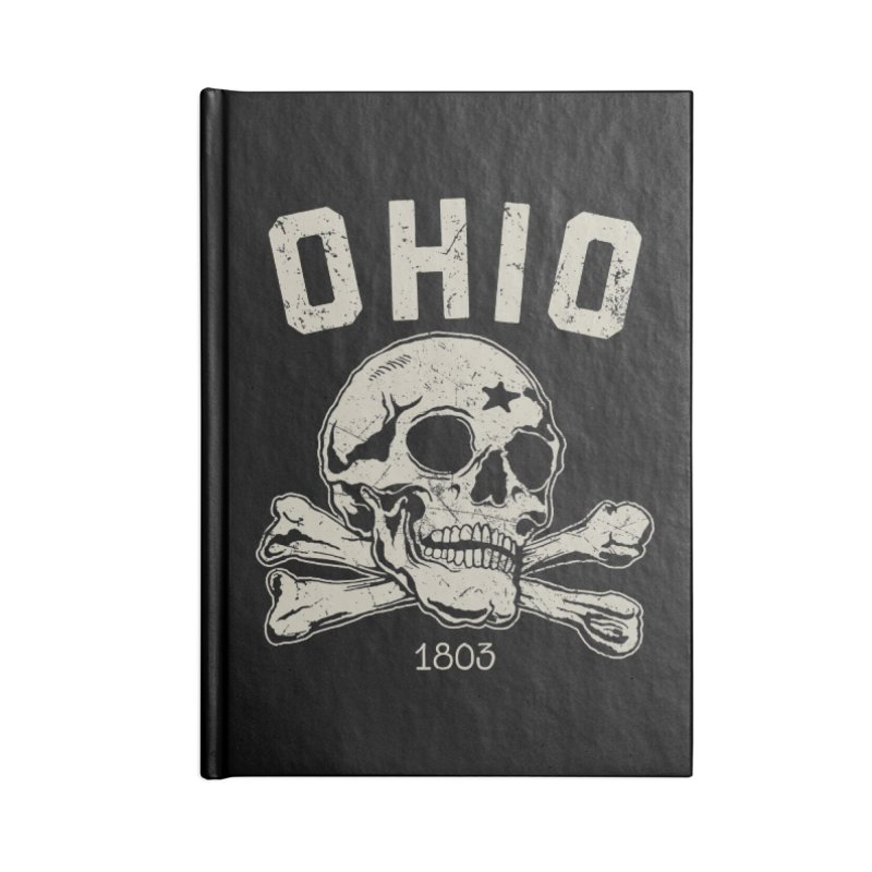 OHIO est.1803 Accessories Blank Journal Notebook by EngineHouse13's Artist Shop
