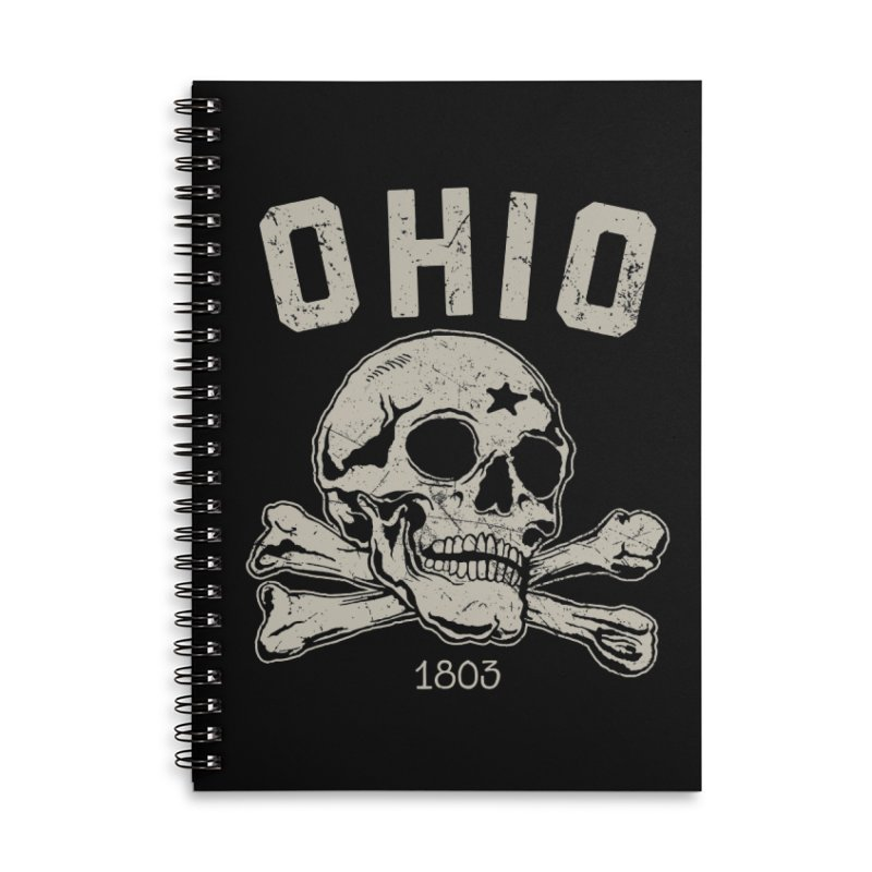 OHIO est.1803 Accessories Notebook by EngineHouse13's Artist Shop