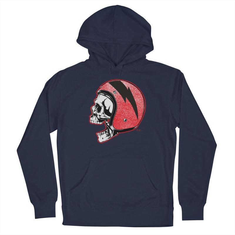 Helmet Skull Men's Pullover Hoody by EngineHouse13's Artist Shop