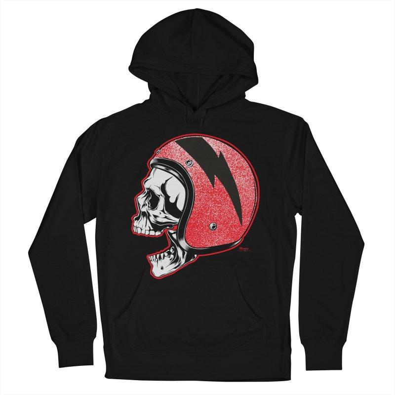 Helmet Skull Women's Pullover Hoody by EngineHouse13's Artist Shop