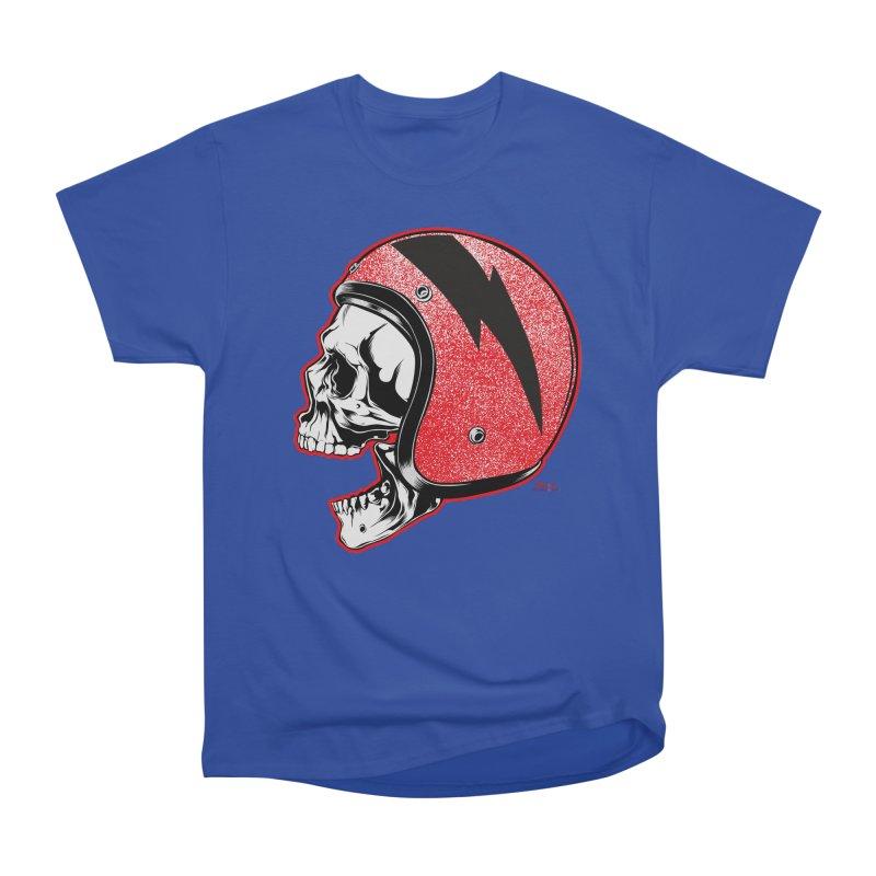 Helmet Skull Men's T-Shirt by EngineHouse13's Artist Shop
