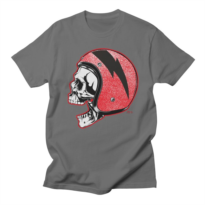 Helmet Skull Men's T-Shirt by EngineHouse13's Artist Shop