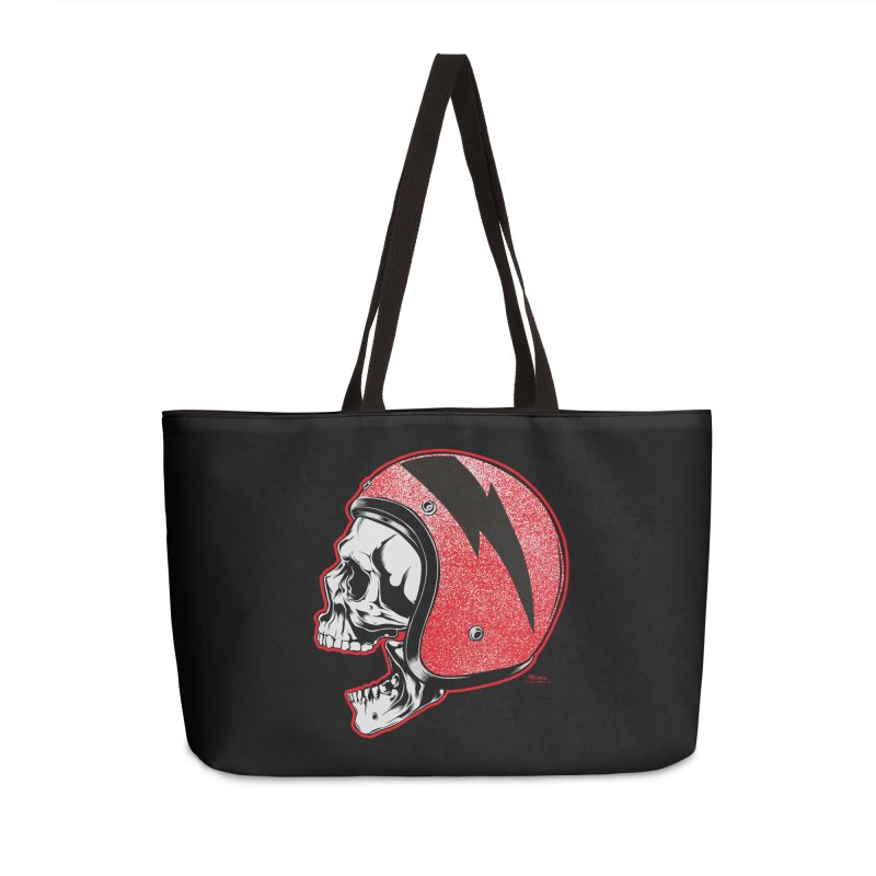 Helmet Skull Accessories Bag by EngineHouse13's Artist Shop
