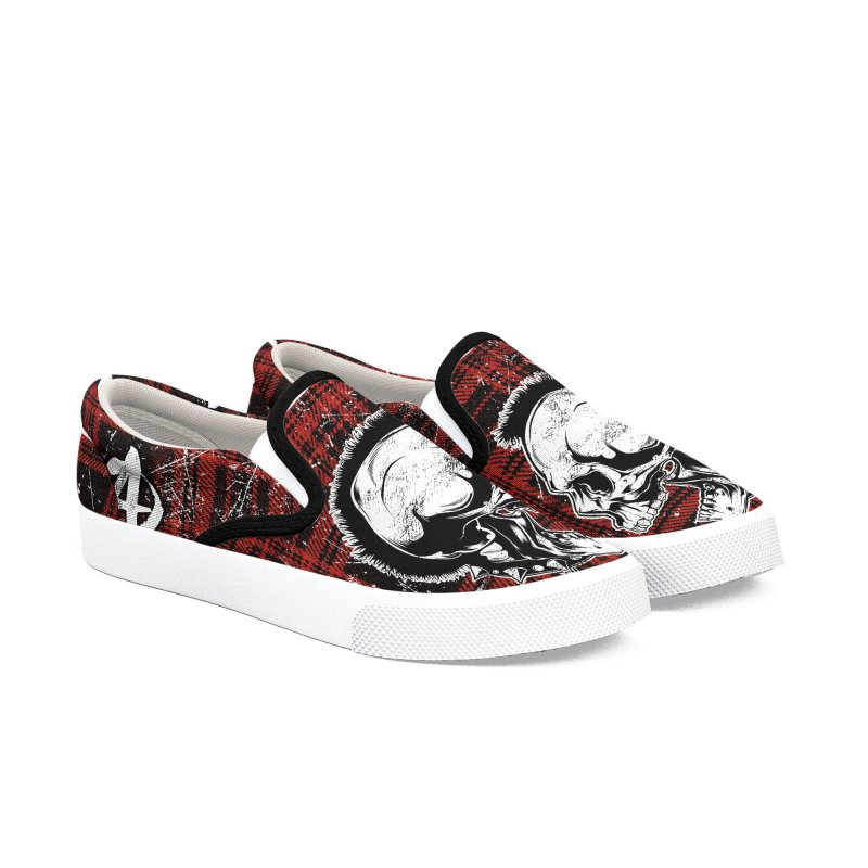 Punk! Women's Slip-On Shoes by EngineHouse13's Artist Shop