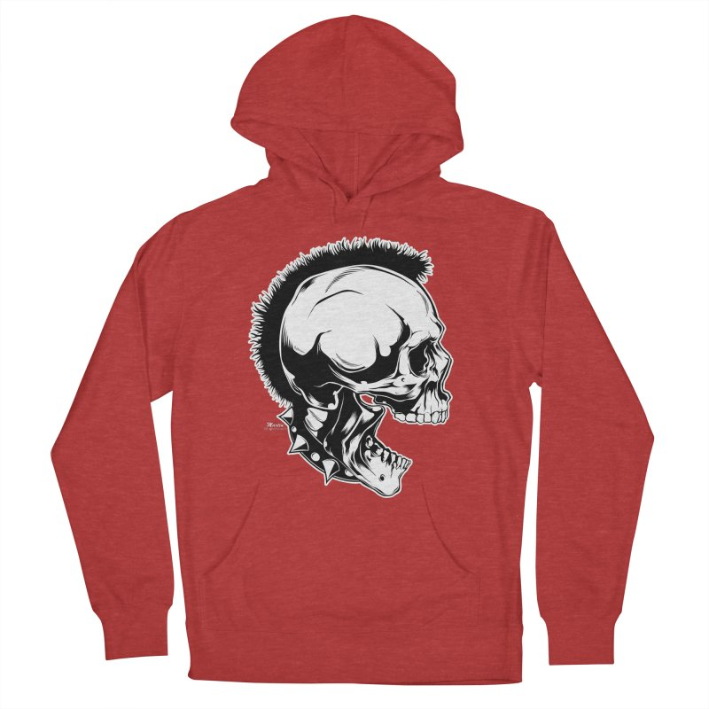 Punk! Women's French Terry Pullover Hoody by EngineHouse13's Artist Shop