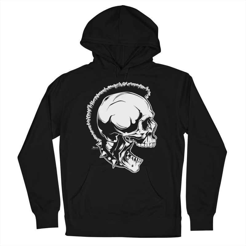 Punk! Men's French Terry Pullover Hoody by EngineHouse13's Artist Shop