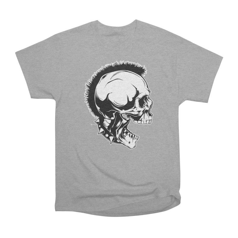 Punk! Women's Heavyweight Unisex T-Shirt by EngineHouse13's Artist Shop