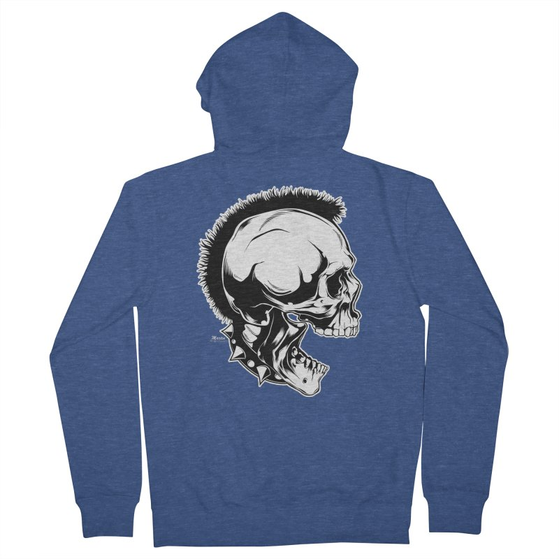 Punk! Men's Zip-Up Hoody by EngineHouse13's Artist Shop