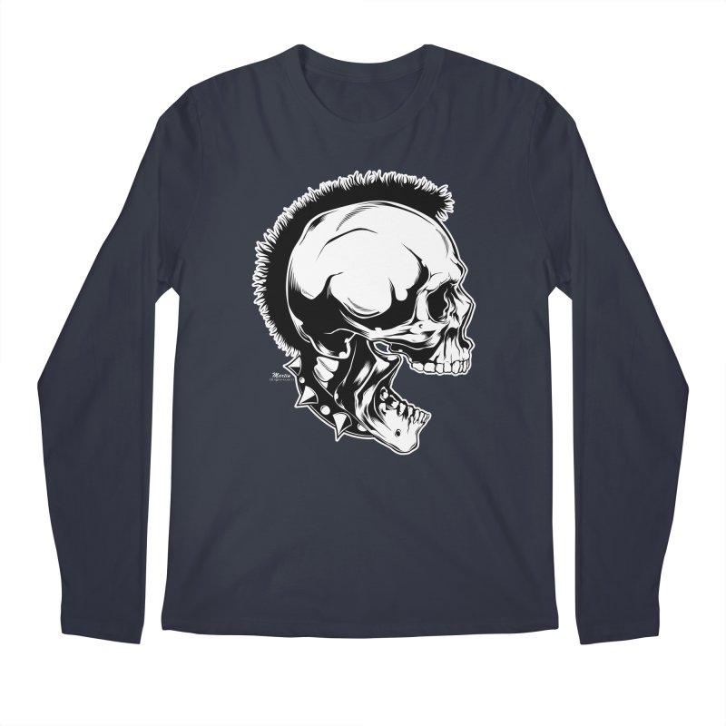 Punk! Men's Regular Longsleeve T-Shirt by EngineHouse13's Artist Shop