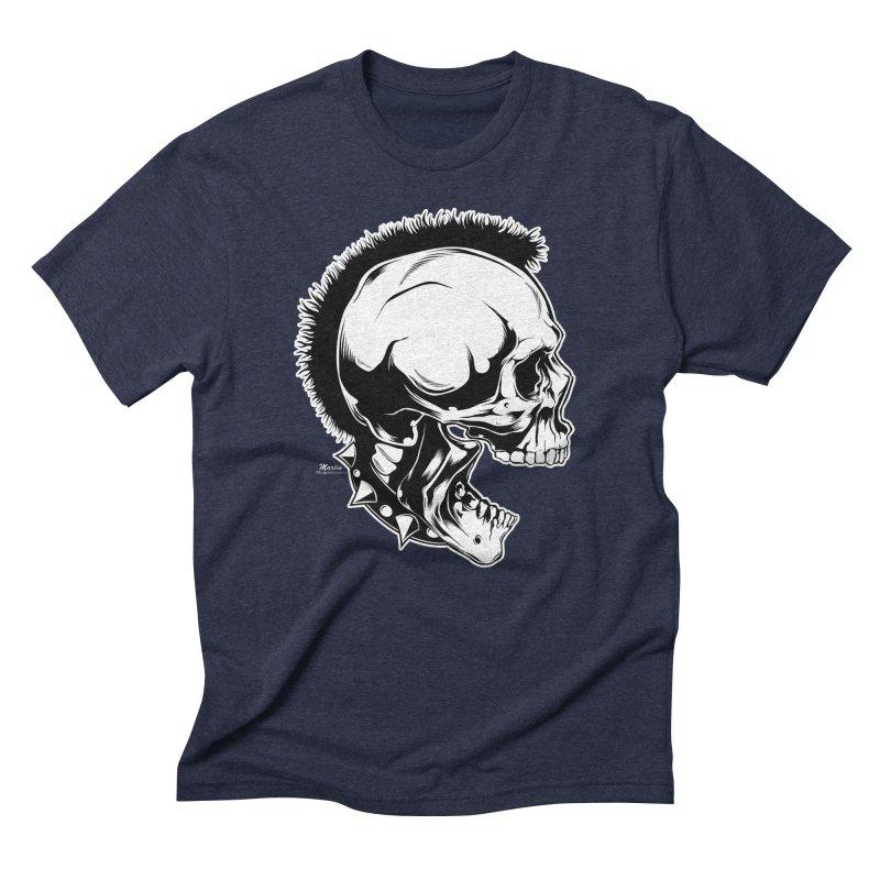 Punk! Men's Triblend T-Shirt by EngineHouse13's Artist Shop