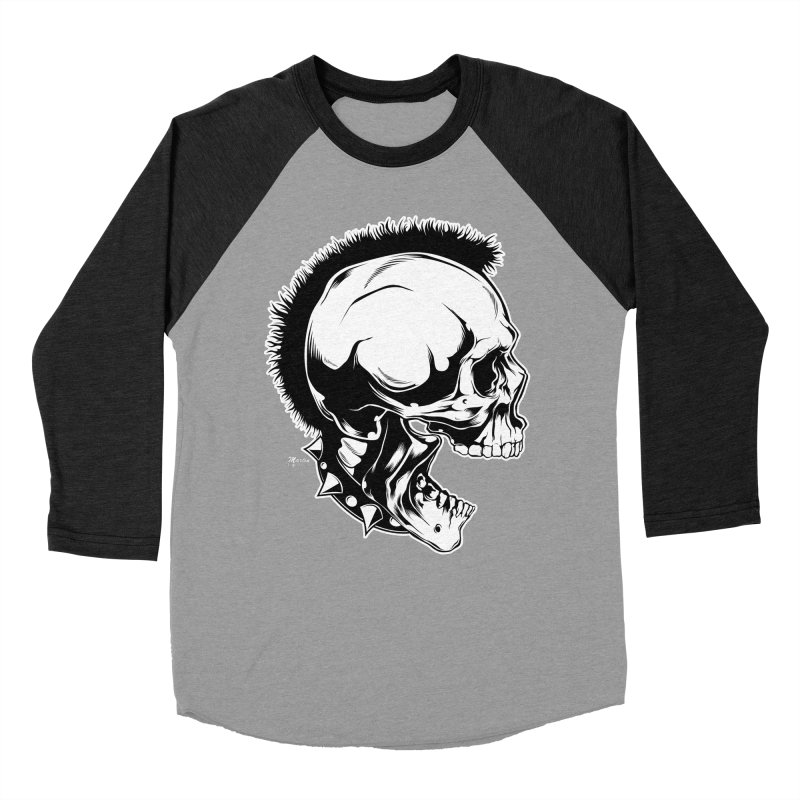 Punk! Women's Baseball Triblend Longsleeve T-Shirt by EngineHouse13's Artist Shop