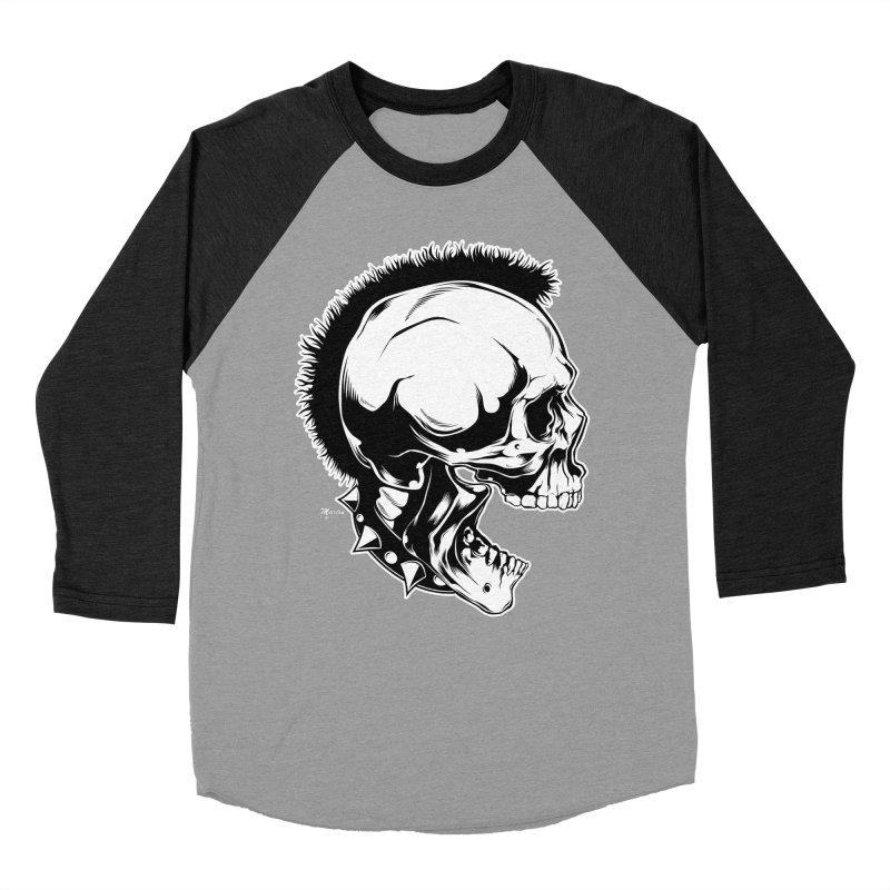 Punk! Men's Baseball Triblend T-Shirt by EngineHouse13's Artist Shop