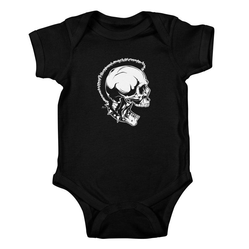 Punk! Kids Baby Bodysuit by EngineHouse13's Artist Shop