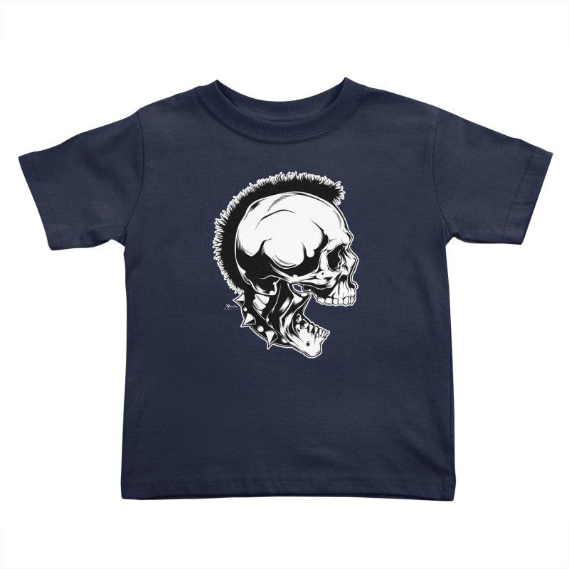 Punk! Kids Toddler T-Shirt by EngineHouse13's Artist Shop