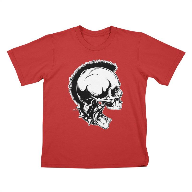Punk! Kids T-Shirt by EngineHouse13's Artist Shop