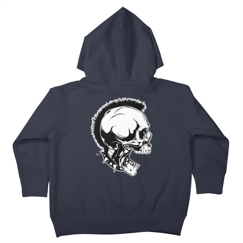Punk! Kids Toddler Zip-Up Hoody by EngineHouse13's Artist Shop