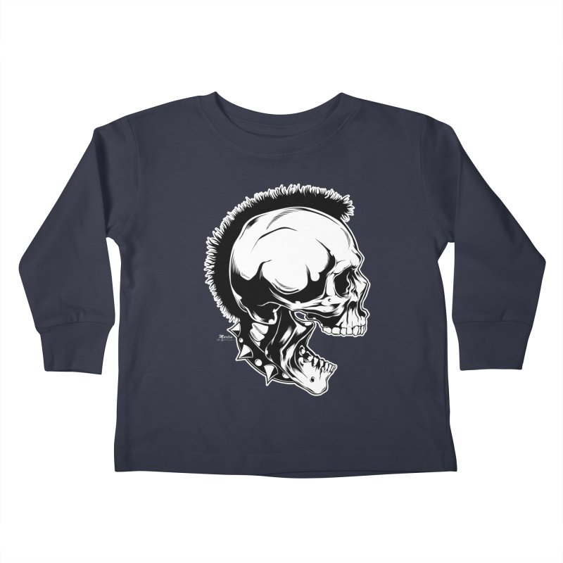 Punk! Kids Toddler Longsleeve T-Shirt by EngineHouse13's Artist Shop