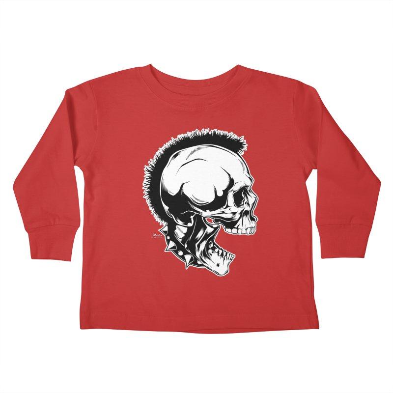 Punk! Kids Toddler Longsleeve T-Shirt by EngineHouse13's Artist Shop