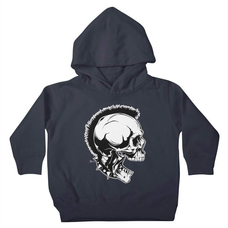 Punk! Kids Toddler Pullover Hoody by EngineHouse13's Artist Shop