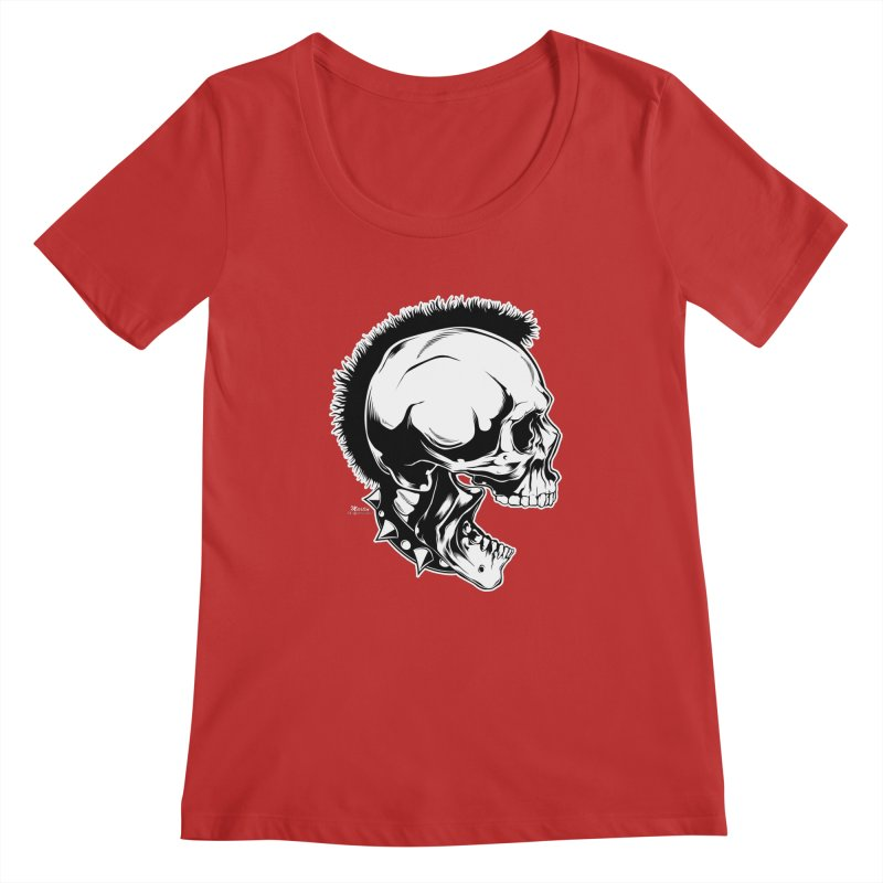 Punk! Women's Regular Scoop Neck by EngineHouse13's Artist Shop