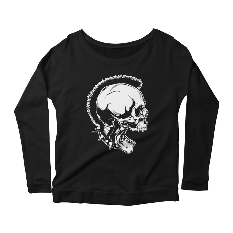 Punk! Women's Scoop Neck Longsleeve T-Shirt by EngineHouse13's Artist Shop