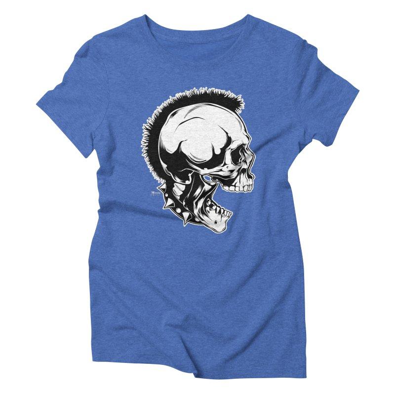 Punk! Women's Triblend T-Shirt by EngineHouse13's Artist Shop