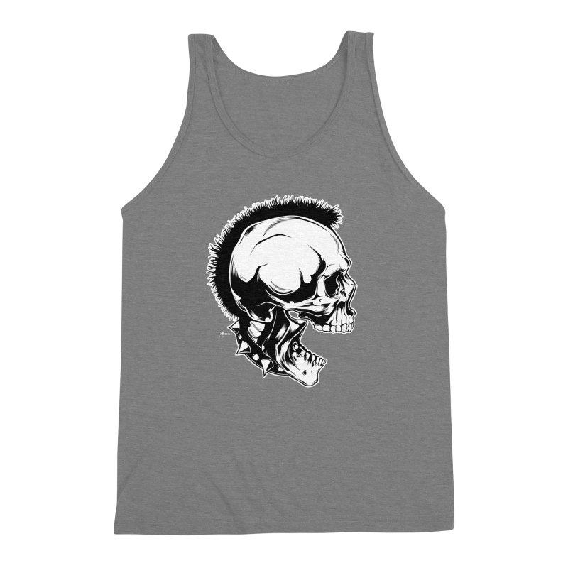 Punk! Men's Triblend Tank by EngineHouse13's Artist Shop