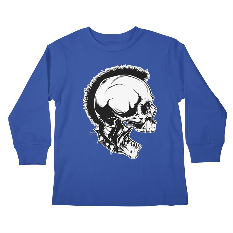Punk! Kids Longsleeve T-Shirt by EngineHouse13's Artist Shop