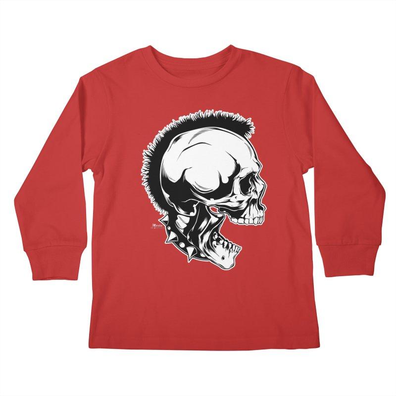 Punk! Kids Longsleeve T-Shirt by EngineHouse13's Artist Shop