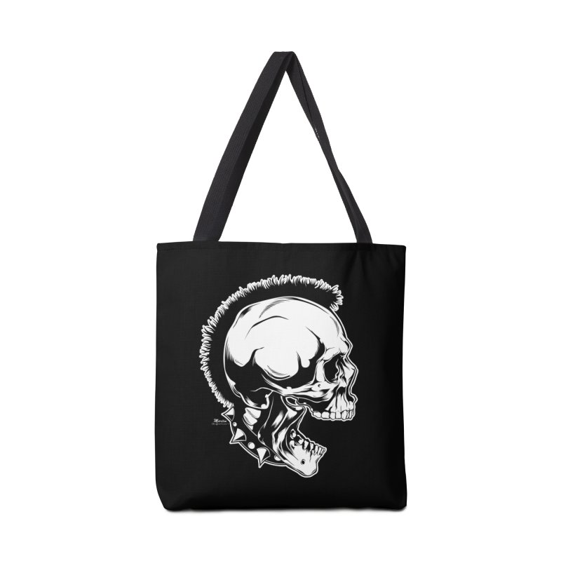 Punk! Accessories Tote Bag Bag by EngineHouse13's Artist Shop