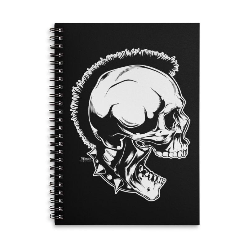 Punk! Accessories Notebook by EngineHouse13's Artist Shop
