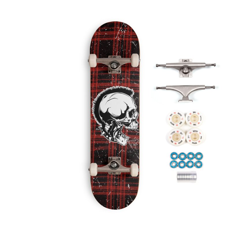Punk! Accessories Complete - Premium Skateboard by EngineHouse13's Artist Shop