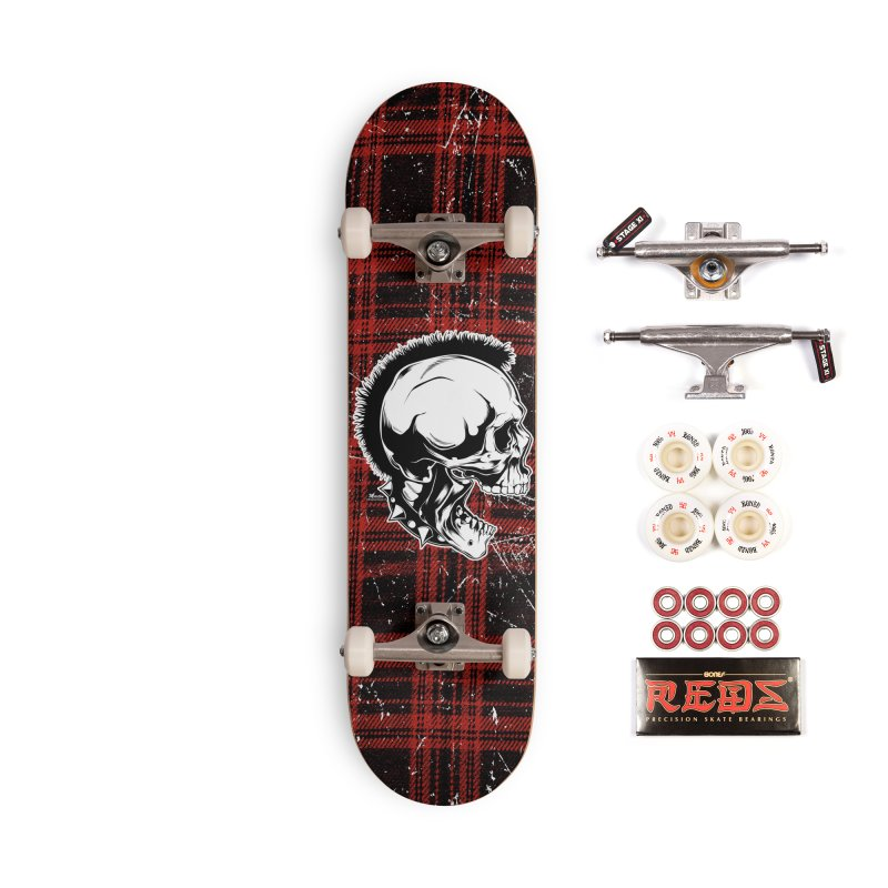 Punk! Accessories Complete - Pro Skateboard by EngineHouse13's Artist Shop