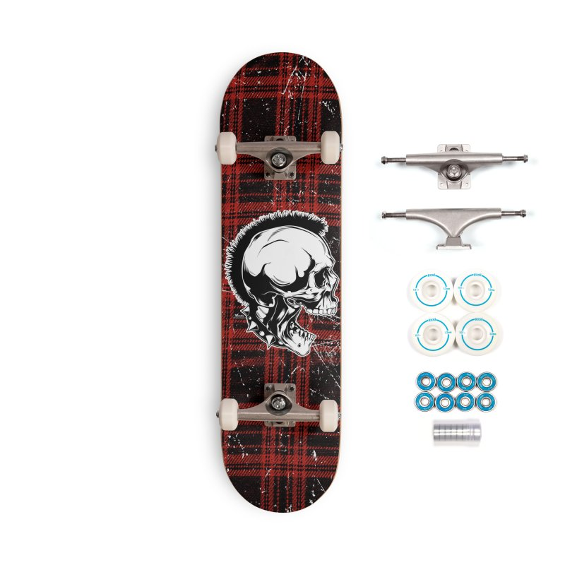 Punk! Accessories Complete - Basic Skateboard by EngineHouse13's Artist Shop