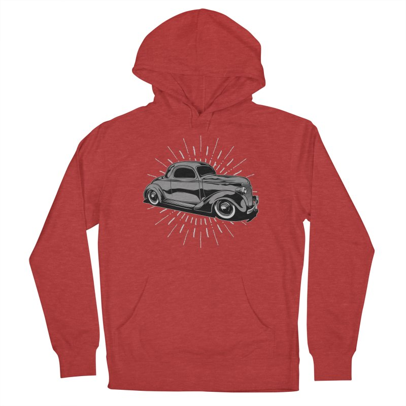 38 Ford Women's French Terry Pullover Hoody by EngineHouse13's Artist Shop