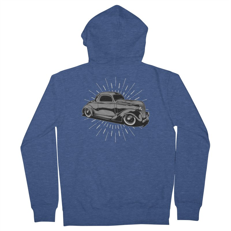 38 Ford Men's Zip-Up Hoody by EngineHouse13's Artist Shop