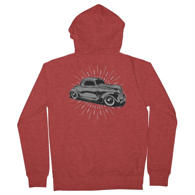 38 Ford Men's French Terry Zip-Up Hoody by EngineHouse13's Artist Shop