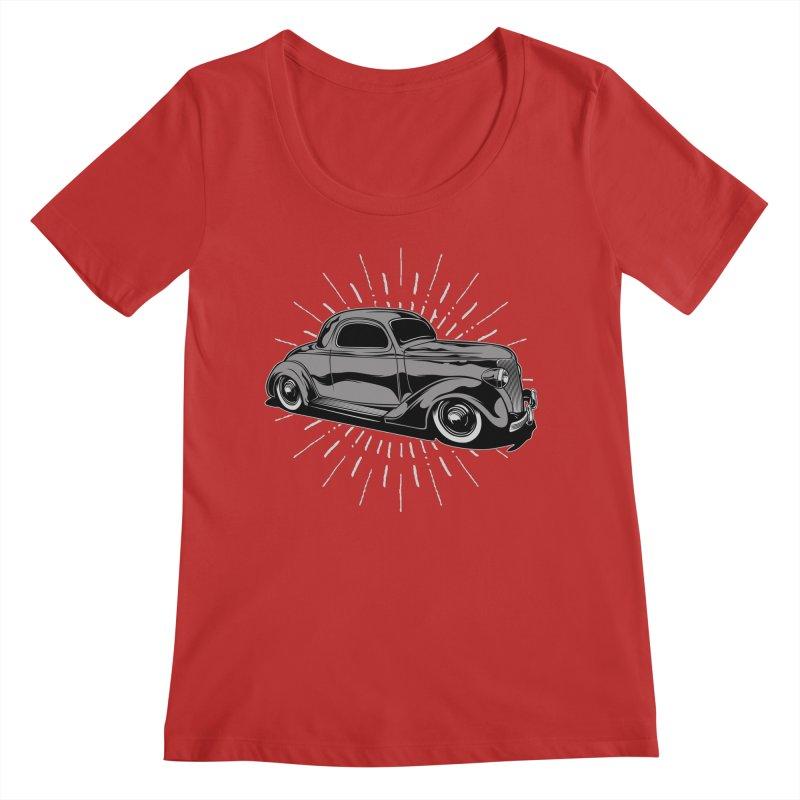 38 Ford Women's Regular Scoop Neck by EngineHouse13's Artist Shop