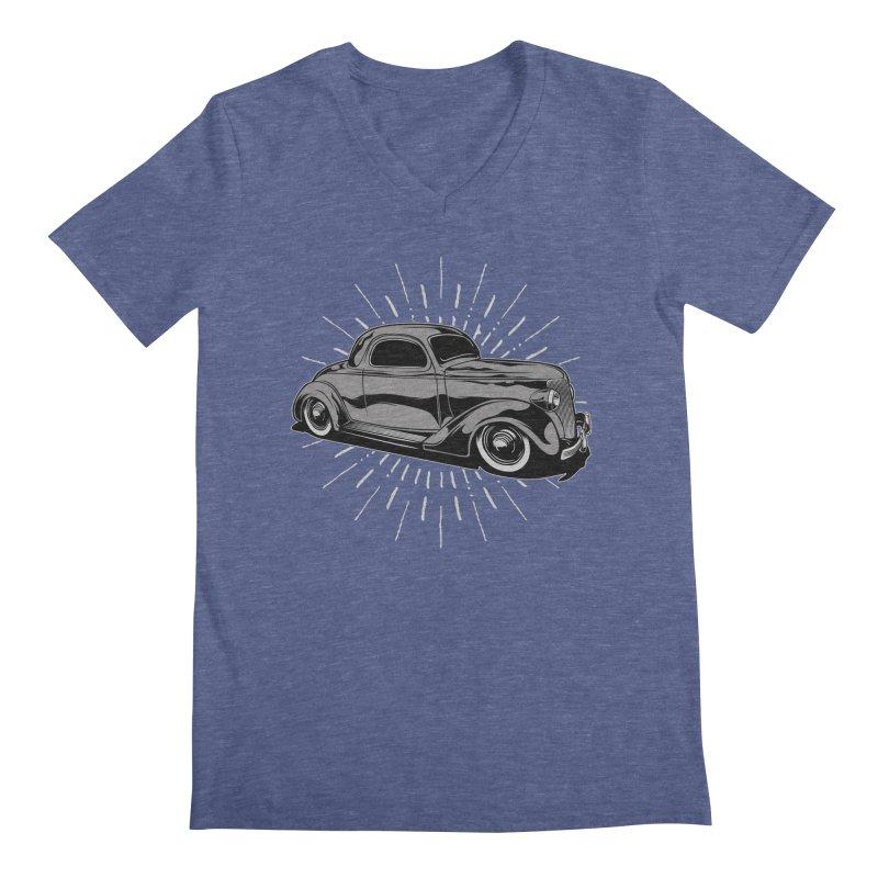 38 Ford Men's V-Neck by EngineHouse13's Artist Shop