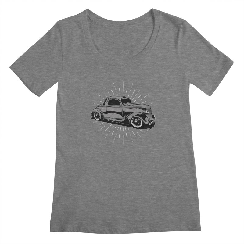 38 Ford Women's Scoopneck by EngineHouse13's Artist Shop